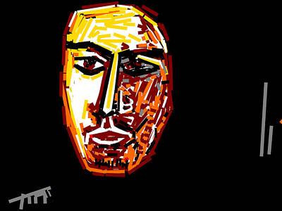 Portrait-5 Art Print
