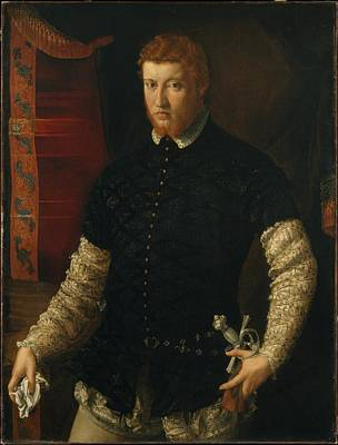 Rossi Painting - Portrait Of A Man by Francesco Salviati