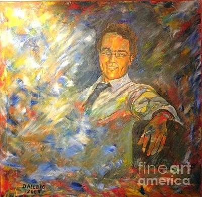Painting - Portrait Of Dr Daniel Pressl by Dagmar Helbig