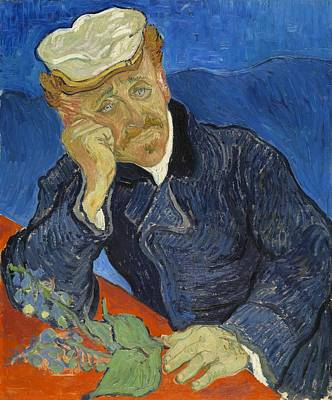 Painting - Portrait Of Dr. Gachet by Vincent Van Gogh