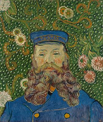 Portrait Painting - Portrait Of Joseph Roulin by Vincent van Gogh