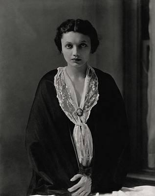 Portrait Of Katharine Cornell Art Print by Edward Steichen