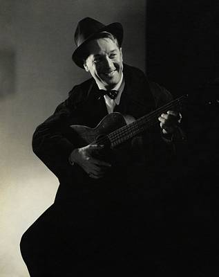 Portrait Of Maurice Chevalier Art Print by Edward Steichen