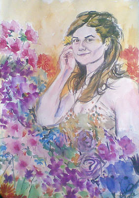 Pastel - Portrait by Vaidos Mihai