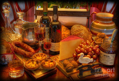 Photograph - Portuguese Tapas Large by Lee Dos Santos