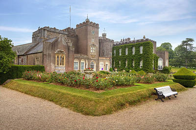 Powderham Castle Art Print by Joana Kruse