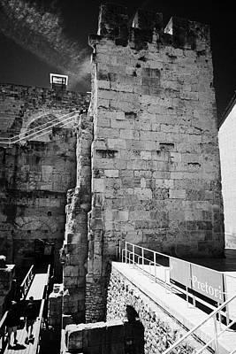 Praetorium Part Of The Roman Ruins Of Tarraco Unesco World Heritage Site Tarragona Catalonia Spain Art Print