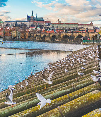 Prague Castle Photograph - Prague by Cory Dewald