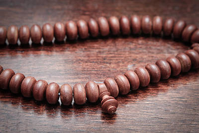 Rosaries Photograph - Prayer Beads by Tom Gowanlock