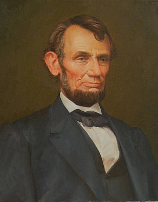 Politicians Digital Art - President Abraham Lincoln  by MotionAge Designs
