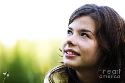 Model Photograph - Pretty Girl Smiling by Michal Bednarek