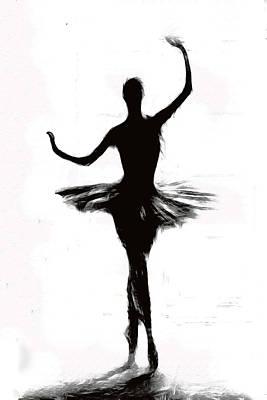 Prima Ballerina Painting - Prima Ballerina by Steve K