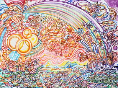 Primavera Art Print by Susan Schiffer