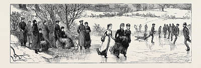 Cold Lake Drawing - Prince Leopold At The Home Of His Affianced Bride by English School