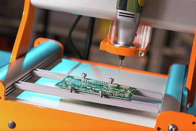 Component Photograph - Printed Circuit Board Processing by Wladimir Bulgar