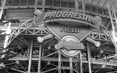 Photograph - Progressive Field by David Bearden