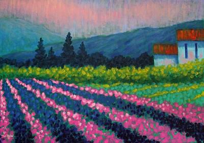 Provence Print by John  Nolan