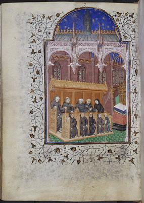 Psalter Of Henry Vi Art Print