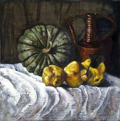 Painting - Pumpkin Pie by Gaye White