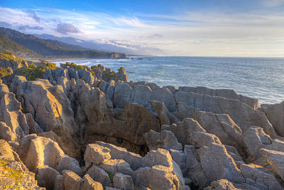 Photograph - Punakaiki Pancake Rocks by Alexey Stiop