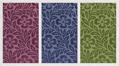 Purple Blue Green Art Print by Aged Pixel