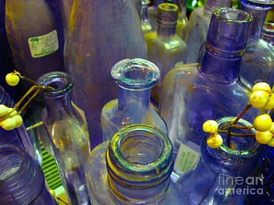 Purple Glaze Art Print by Cathy Dee Janes