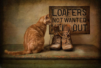 Photograph - Puss N Boots by Robin-Lee Vieira