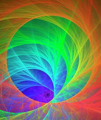 Quantum Chromodynamics Art Print