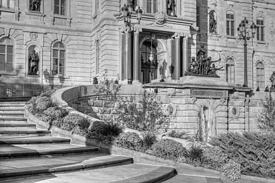 Canadian Parliament Photograph - Quebec Parliament Buildings  Quebec by David Chapman
