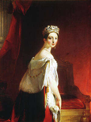 Victoria Painting - Queen Victoria (1819-1901) by Granger