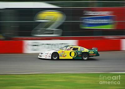 Photograph - Racing Oregon Ducks Nascar by Tyra  OBryant