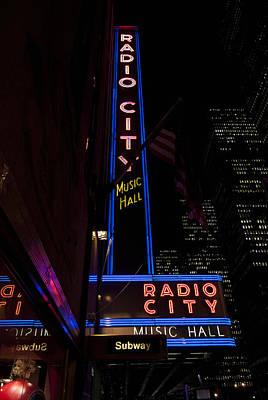Photograph - Radio City Music Hall by Michael Dorn