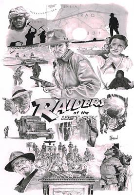 Raiders Original by David Horton