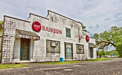South Louisiana Photograph - Rainbow Inn by Scott Pellegrin