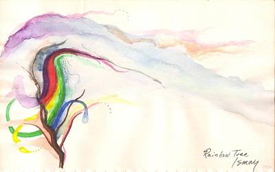 Painting - Rainbow Tree by Rod Ismay