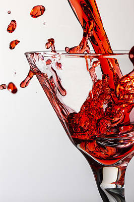 Martini Photos - Random Red by Jon Glaser