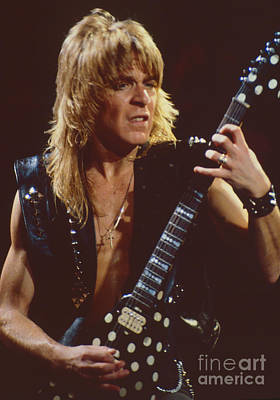Randy Rhoads At The Cow Palace In San Francisco - 1st Concert Of The Diary Tour Art Print