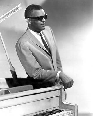 Albany Photograph - Ray Charles by Retro Images Archive