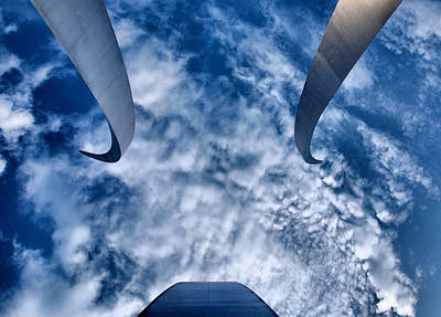 Reaching For The Sky Print by Steven Ainsworth