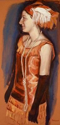 Ontario Portrait Artist Painting - Ready To Dance by Sheila Diemert