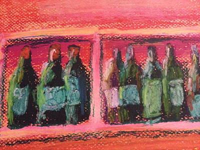 Pastel - Red In A Row by Steve Jorde