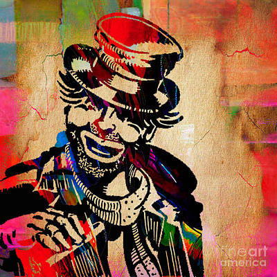 Red Skelton Collection Art Print