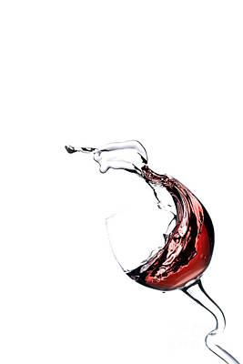 Wine Cellar Photograph - Red Wine by Andreas Berheide