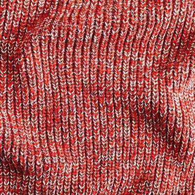 Red Wool Art Print by Tom Gowanlock
