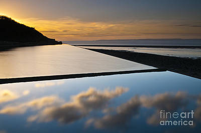 Clevedon Photograph - Reflection 3 by Iksung N