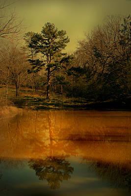 Luminism Photograph - Reflections On Life by Nina Fosdick