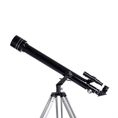 Refracting Telescope Art Print by Science Photo Library