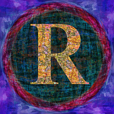 Digital Art - Registered Trademark Symbol by Gregory Scott