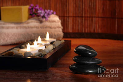 Massage Photograph - Relaxation by Olivier Le Queinec