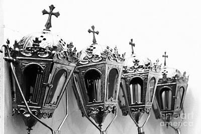Religious Artifacts Art Print by Gaspar Avila